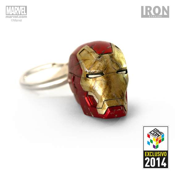Chaveiro Iron-Man Mark XLII Battle Damaged