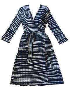 Vestido wrap listras_Leopoldina Dresses