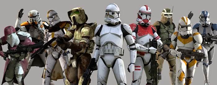 Clone_Troopers_Varios_Tipos