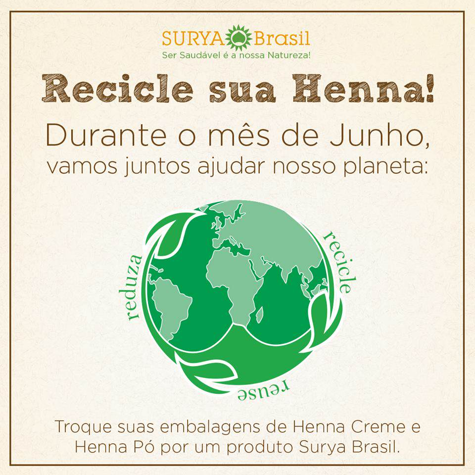 FLYER RECICLE SUA HENNA