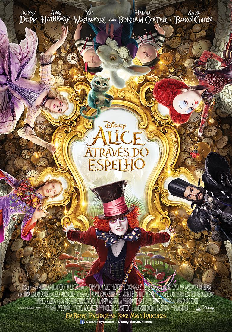 Alice Através Do Espelho Supera Primeiro Filme Mas Não Empolga