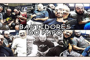 Bastidores do Papo no Estúdio