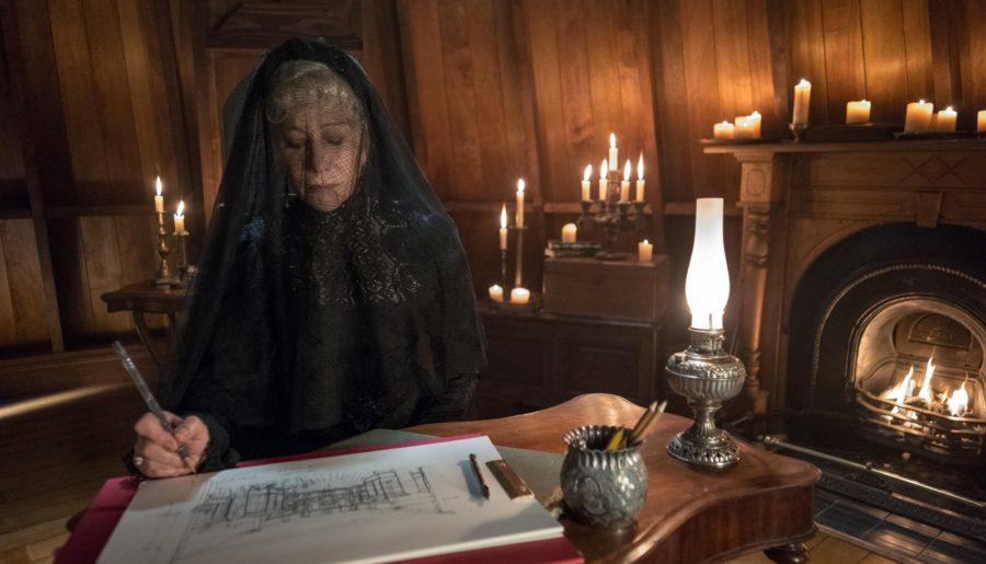 Terror anti-belicista, A Maldição da Casa Winchester apresenta brilho técnico, mas roteiro falho